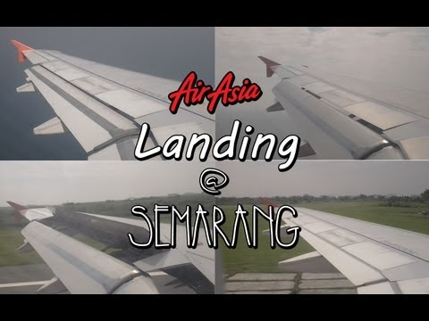 Air Asia: Landing at Semarang