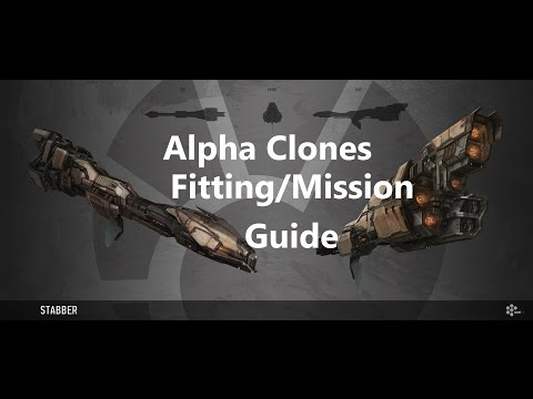 Eve Online - Alpha Clones Level 1 Mission/Fitting guide.