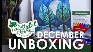 December Paletteful Packs Unboxing & Demo with HulloAlice