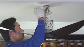 Hướng dẫn lắp đặt quạt trần Panasonic F-60XDN