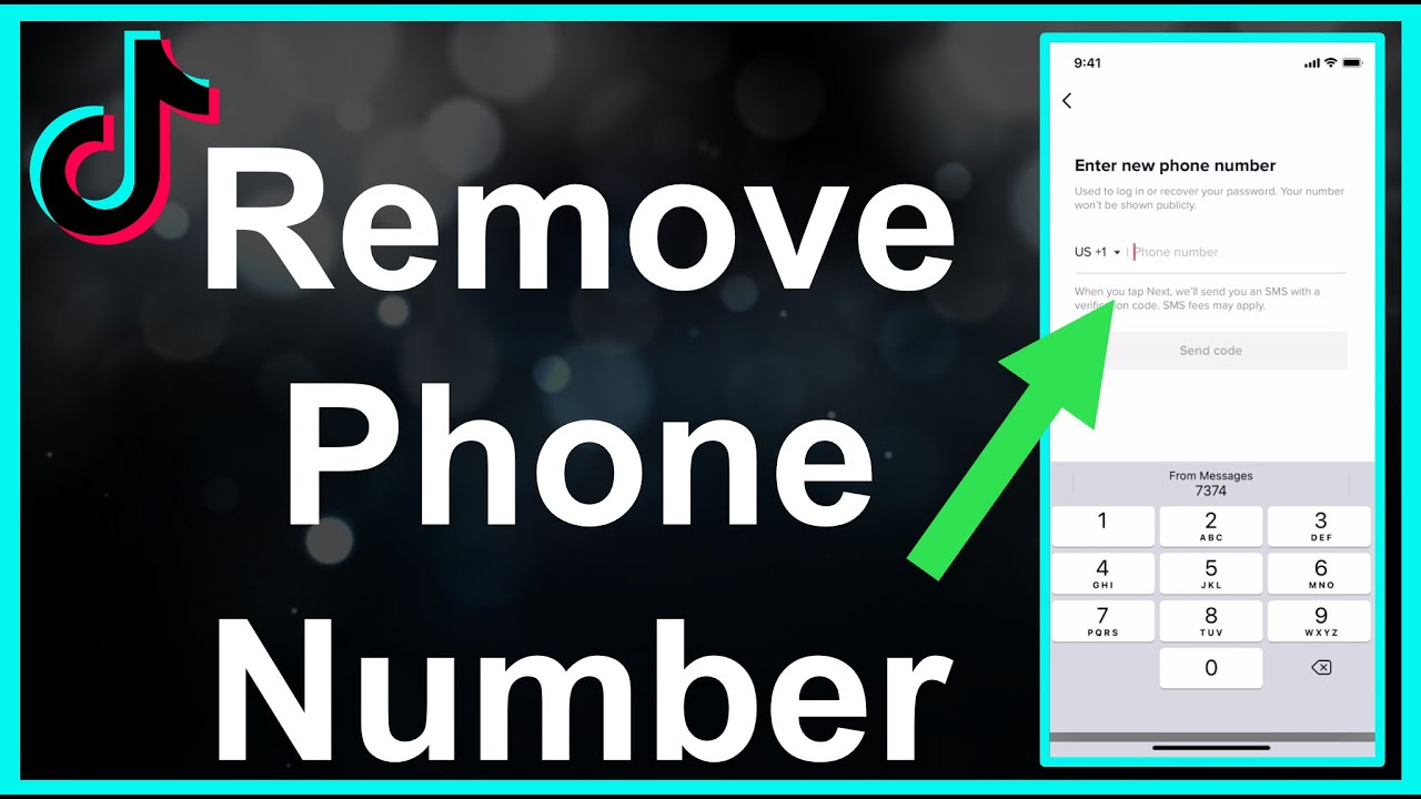 How To Remove TikTok Phone Number 2021
