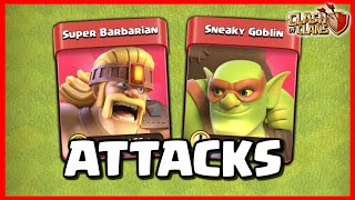 WE TRIED THE SUPER TROOPS UPDATE ft. CLASH BASHING (Clash of Clans)
