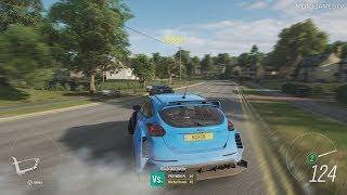 Forza Horizon 4 Demo - Widebody Ford Focus RS Gameplay
