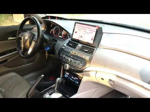 How To Remove The Factory Radio From 2009 Honda Accord EX-L Audio System Update