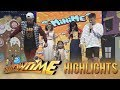 It's Showtime MiniMe 3: Mini Jennifer Lopez teaches Anne and Karylle how to cat walk