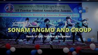 Sonam Angmo and Group || Zanskar Losar 2019 || Group Dance
