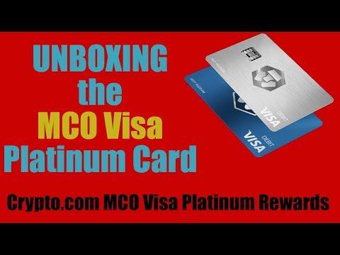 Crypto.com (aka Monaco) MCO VISA — Unboxing, Review, & How to...