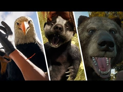 Evolution Of Animal Attack Animations In Far Cry Games
