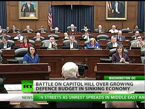 Pentagon Almighty: Defense Budget Fat, Sick Economy Starving