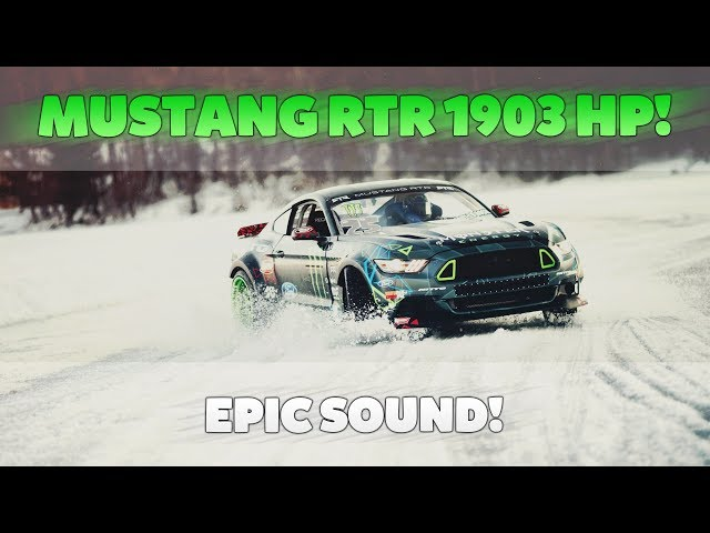 Ford Mustang RTR with 1903 HP • Testdrive! ✘ CaliSpielt