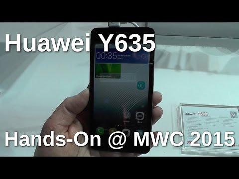 Huawei Y635 Hands On auf dem MWC 2015 - www.technoviel.de