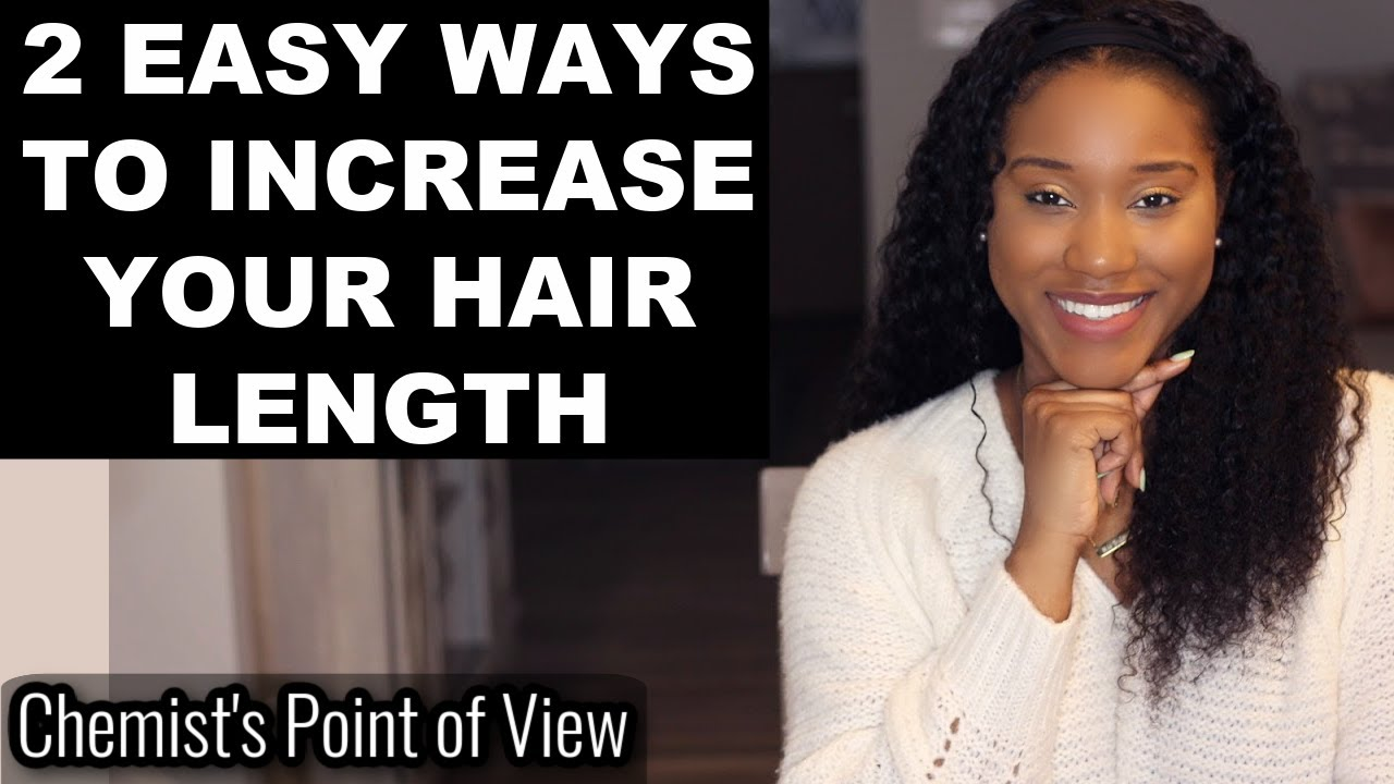2 EASY WAYS TO INCREASE YOUR HAIR LENGTH! ANAGEN PHASE ACTIVATION!