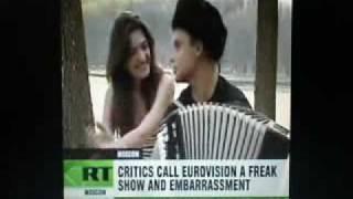 Eurovision is a freak show(Семен Фролов покоряет Европу)