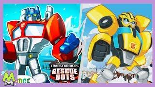 Transformers Rescue Bots:Пригода Героїв.Велике Оновлення Гри.Бамблбі і Оптімус Прайм в Грі
