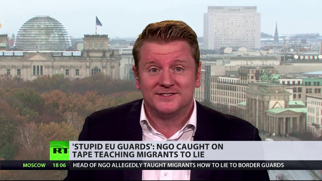 'Stupid EU guards': NGO caught on tape teaching migrants ...