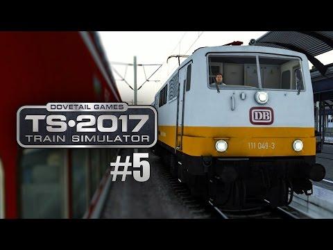 Train Simulator 2017 #5: BR 111 als Lufthansa-Express Berlin Leipzig: BR 101 ohne Pzb und Sifa?