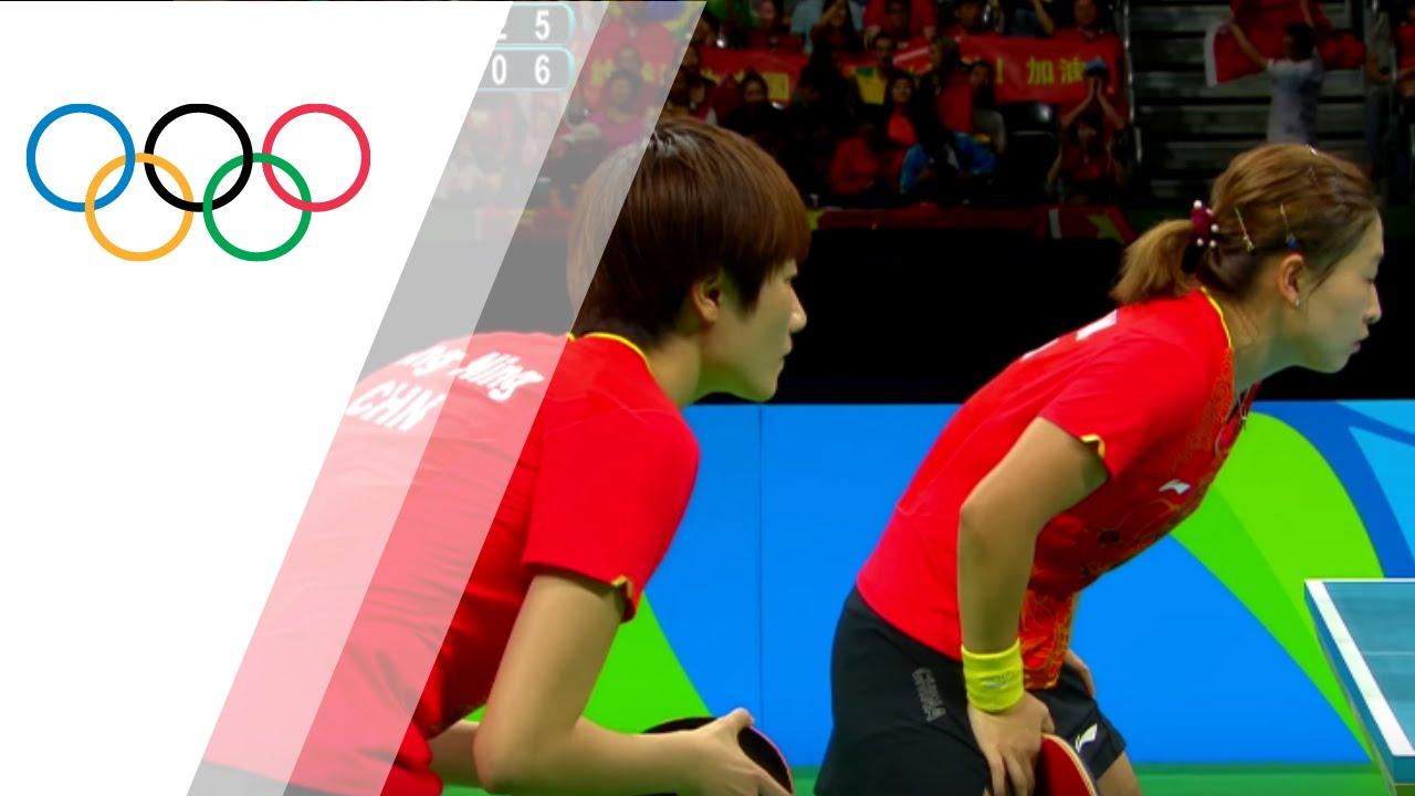 Rio Replay: Women's Team Table Tennis Final