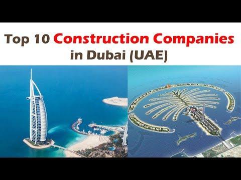 Top 10 Big Construction Companies In Dubai (UAE) | For Civil Engineers Jobs
