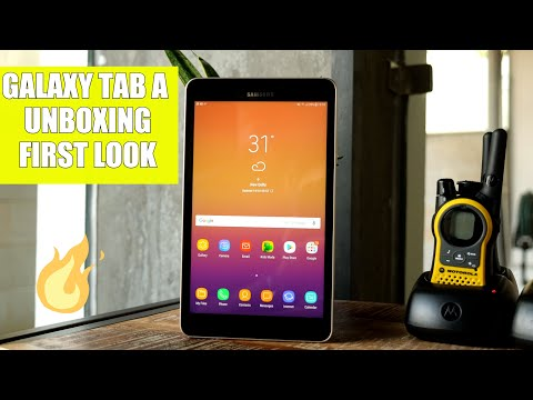 Samsung Galaxy Tab A 2017 Unboxing and First Look