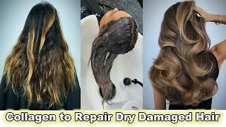 COLLAGEN to REPAIR DRY DAMAGED HAIR