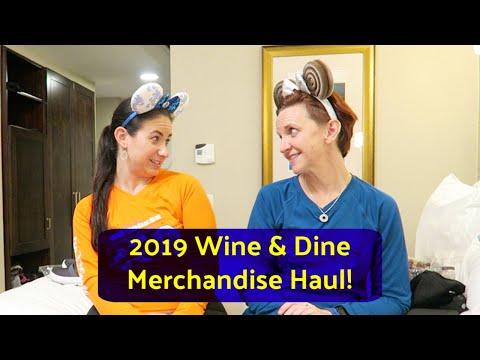RUNDISNEY 2019 WINE & DINE HALF MARATHON EXPO AND MERCHANDISE
