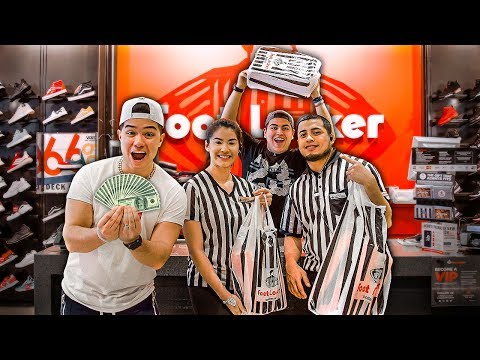 Buying EVERY Footlocker Employee A Pair Of Shoes!