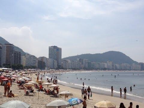 Rio de Janeiro Copacabana Beach, Leme, Arpoador, Ipanema, Leblon