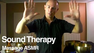 ASMR Healing Role Play with Sound Therapy & Hand Movements