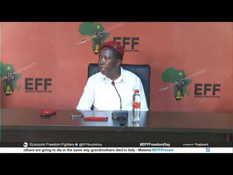 The EFF Is Responding To The Country's Move To Lockdown 3