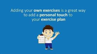 How to add your own Exercises