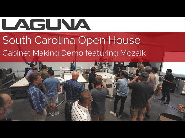 Cabinet Making Demo w/Mozaik | LAGUNA South Carolina Open House