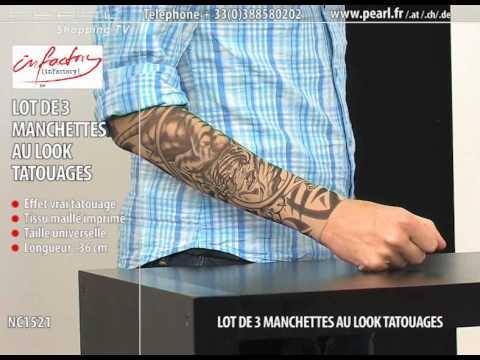 Lot De 3 Manchettes Au Look Tatouages Youtube