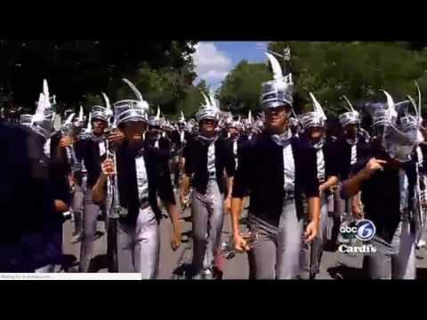 Carolina Crown   Bristol RI 4th of July Parade 2017