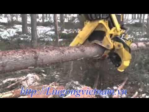 Máy khai thác gỗ siêu nhanh