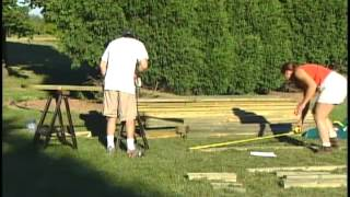 Ch 5 - Cutting The Lumber, Custom/diy Install Dvd - Swing-n-slide Ni 2103