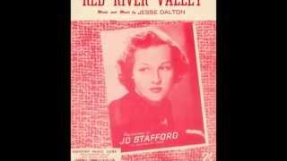 Jo Stafford 'Red River Valley'  Original 1949 version 78 rpm