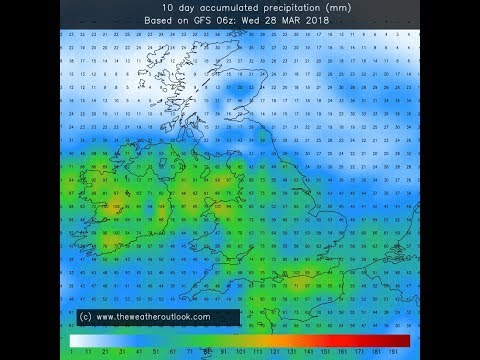 Very Wet And Cold First Week To April (28/03/18)