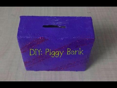 DIY: Piggy Bank