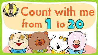 Number song 1-20 for children | Counting numbers | The Singing…