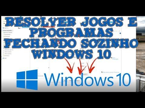 resolver-jogos-e-programas-fechando-sozinho-windows-10
