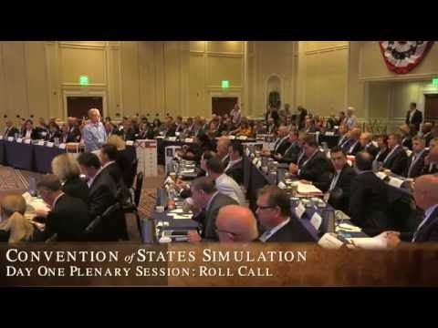 Convention of States Simulation: Election of Convention President