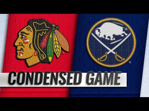 02/01/19 Condensed Game: Blackhawks @ Sabres