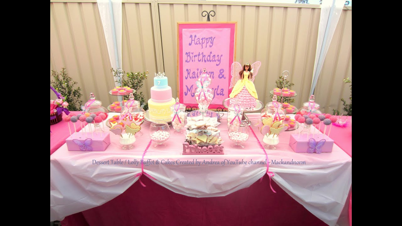 How to Create my Dessert Table & Candy / Lolly Buffet ...