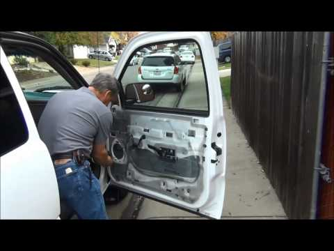 2000 Chevy Silverado front door speaker replacement & door panel removal tutorial  YouTube