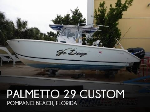 [UNAVAILABLE] Used 2002 Palmetto 29 Custom in Pompano Beach, Florida