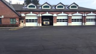 North Queensbury Vol. Fire responding to a structure fire! Audio included (2/11/16)