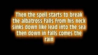 Iron Maiden - Rime of the Ancient Mariner with Lyrics