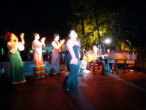 Flamenco performance, Hotel Alfonso XIII in Sevilla, Spain, May 31, 2012