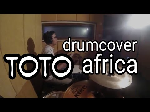TOTO - AFRICA DRUM COVER by agungaholic