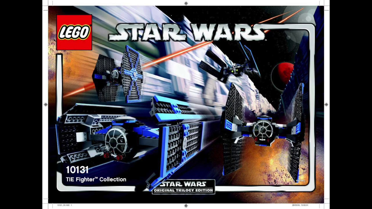 LEGO Star Wars 10131 TIE FIGHTER COLLECTION Building Instructions!
